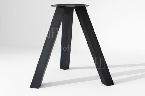 Подстолье трёхопорное в лофт-стиле