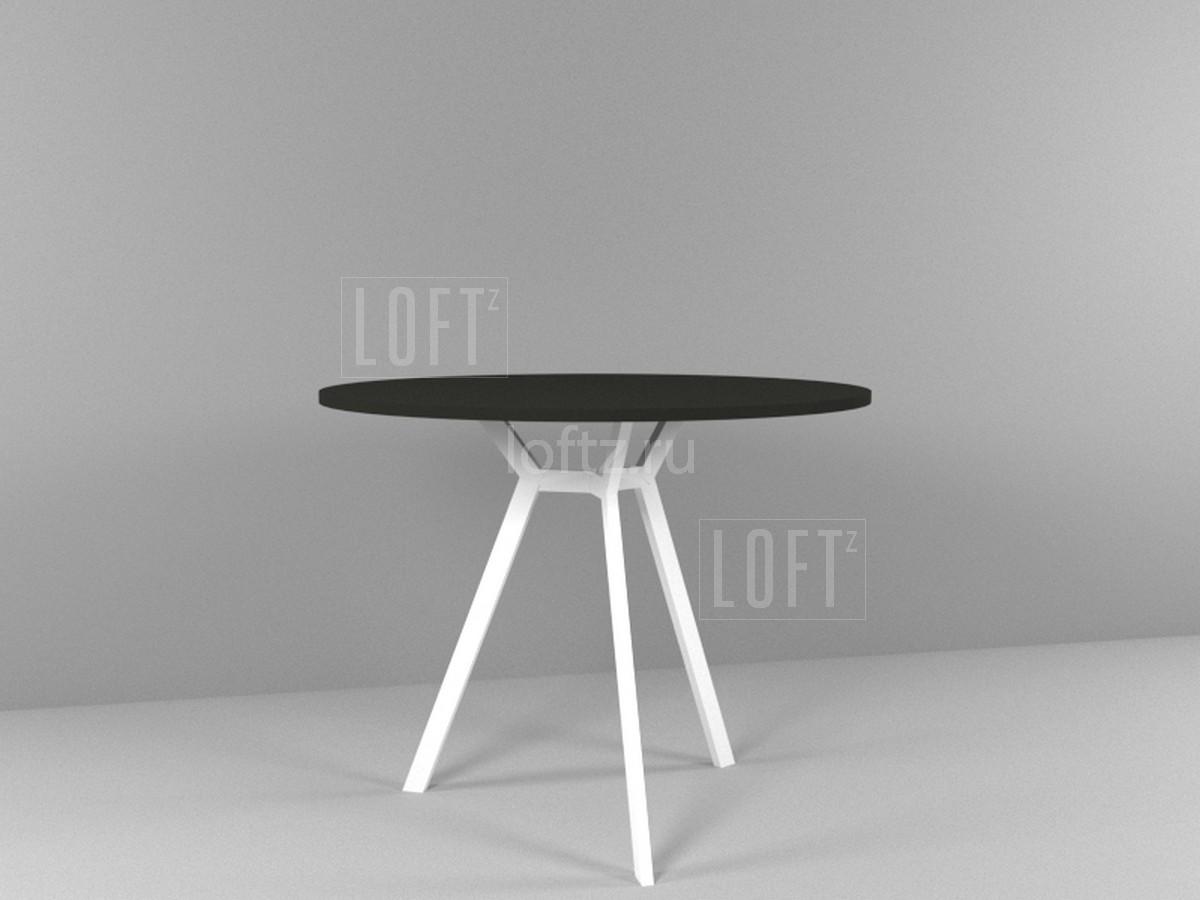 Подстолье для круглой столешницы в стиле минимализм