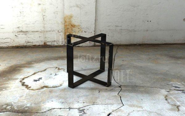 Подстолье в лофт стиле для квадратной или круглой столешницы