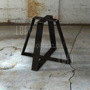 Подстолье лофт для круглой или квадратной столешницы