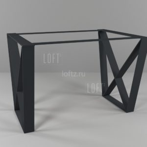 Подстолье для стола в минималистичном стиле
